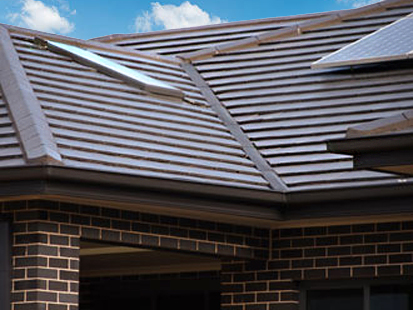 Gutter &Valley Guard Flat Tiled Roof.