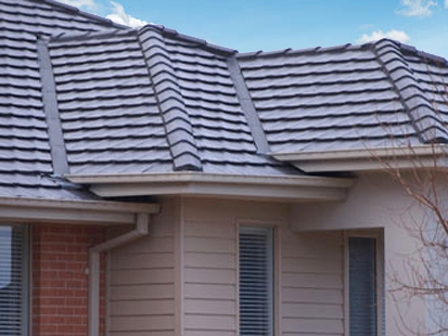 Gutter & Valley Guard Tiled Roof.