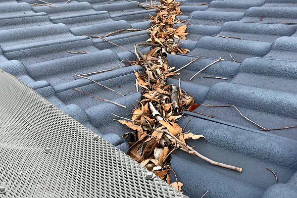 LM12 Best Gutter and Roof Valley Protection Keeping Leaves, debris, Birds and Vermin at Bay.